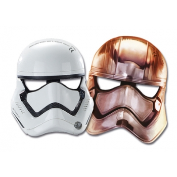 Mask Star Wars 6tk paber