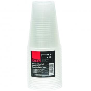 Plasttops Saana 480ML 25tk
