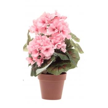 Kunstlill Pelargoon potis roosa