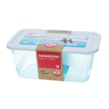 Külmikukarp Keeeper 4,3L kandiline
