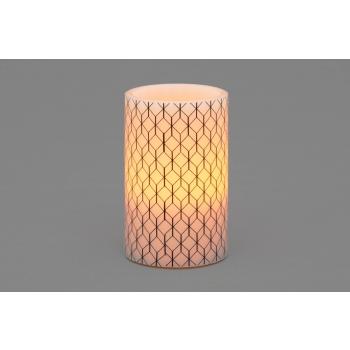 LED-küünal Geometric 75x150mm 3xAAA