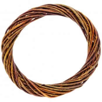 Pärg pajust, pruun, 20cm