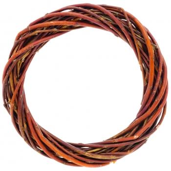 Pärg pajust, pruun, 15cm