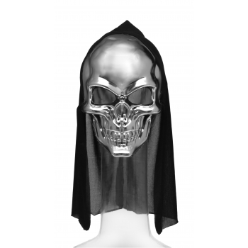 Mask kapuutsiga hõbe