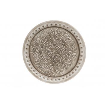 Dekoratiivalus Ø35cm glasuuriga metall
