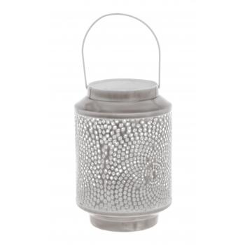 Küünlalühter Mina 25,5cm glasuur metall