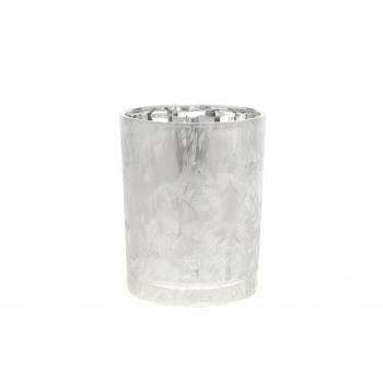 Teeküünlahoidik Cozy 12,5cm jäine klaas