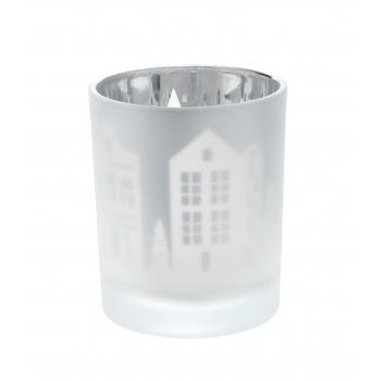 Teeküünlahoidik Linn 8,4cm klaas
