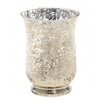 Küünlavaas 11x11x15cm  Shiny klaasist