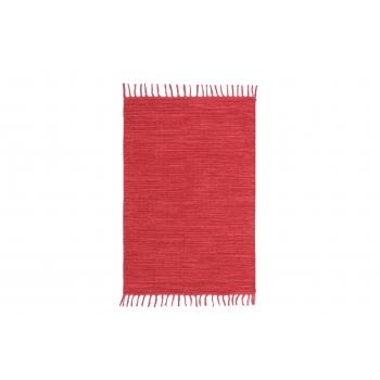 Vaip 80x150cm puuvillane punane