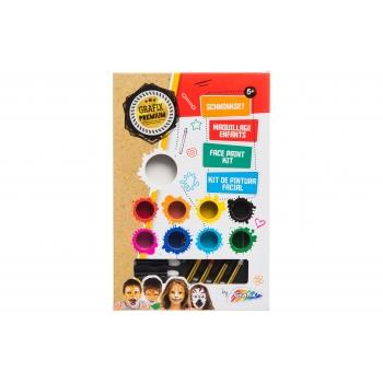 Näovärvide komplet Grafix 9 värvi