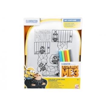 Komplekt Minions värvitav kott+ markerid