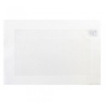 Lauaplate Hampton 45x30cm PVC valge