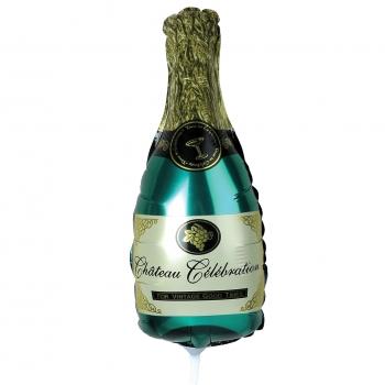 Õhupall Šampanjapudel 45cm foolium