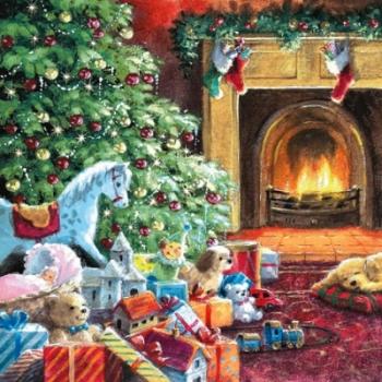 Salvrätikud 33x33cm 20tk Jõuluõhtu
