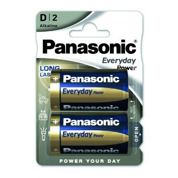 Patarei Panasonic D LR20 2tk Everyday