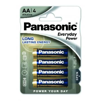 Patarei Panasonic AA 4tk Everyday