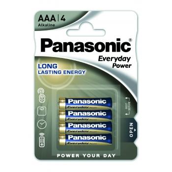 Patarei Panasonic AAA 4tk Everyday