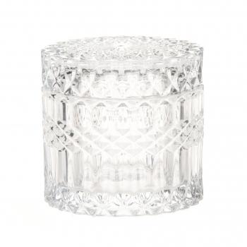 Klaaspurk kaanega 9x9x8,5cm