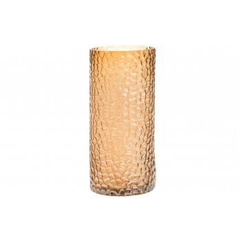 Vaas 27cm klaasist kuldne