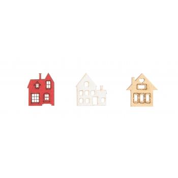 Käsitöötarvik puidust dekoratioonid 45tk