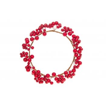 Pärg Punased marjad 22cm