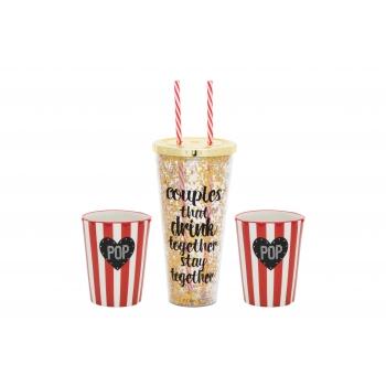 Kinkekomplekt Popcorn