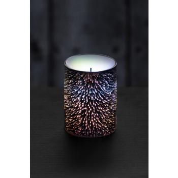 Küünal LED 3D 7,5x10cm 3xAAA höbe