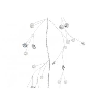 Dekoratsioon sätendav pärlid/kivid 120cm