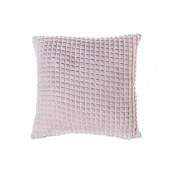 Dekoratiivpadi Ruut 45x45cm roosa 100%PE