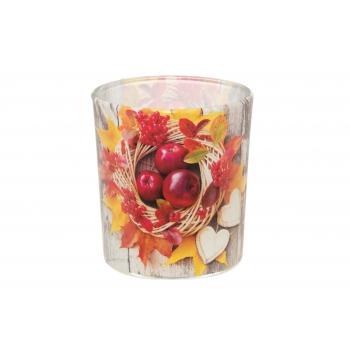 Lõhnaküünal klaasis Kuldne sügis22h