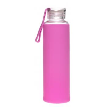 Joogipudel Atom 550ml klaas/silikoon