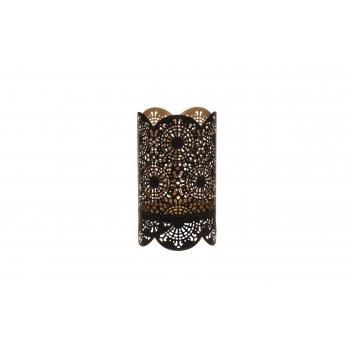 Küünlalatern Ruusa 12x20,5cm metall