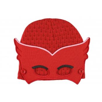 Müts maskiga punane