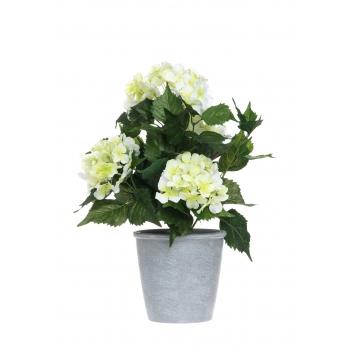 Kunstlill Hortensia potis 42cm