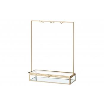 Ehtehoidik 4Living klaasist kuldne