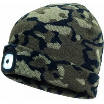 Müts LED-valgustusega laetav kamuflaaž