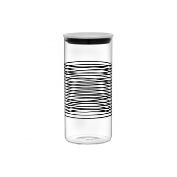 Klaaspurk kaanega 1,9L Maku Raita