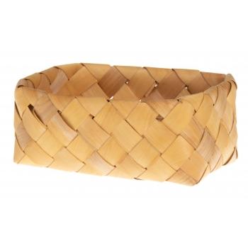 Korv punutud kandiline 22 x 15 x 8,5 cm