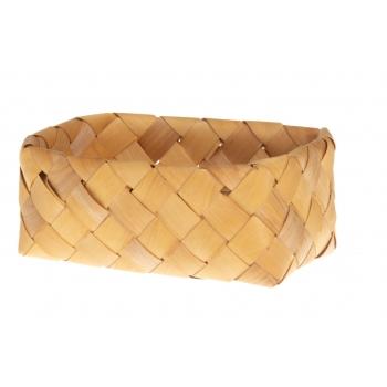 Korv punutud kandiline 19 x13 x 8 cm