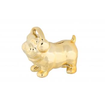 Rahakassa Kuldne Koer 10x17x15cm