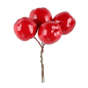 Dekoratsioon Punased marjad 2,5cm