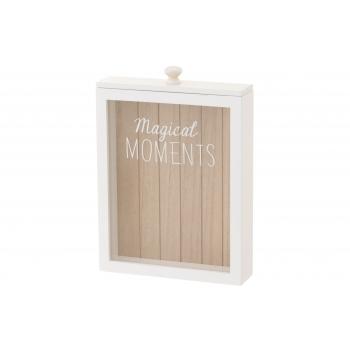 Puidust karp Memory Box klaasseinaga