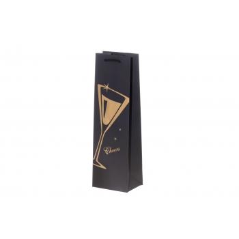 Kinkekott pudelile 9x12x939cm Wine