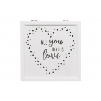 Karp puidust Love 20x20x8cm