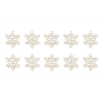 Käsitöötarvik Lumehelbed 2cm 10tk