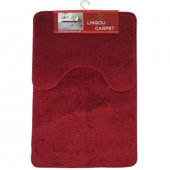 Vannitoamatt Lavabo 2tk punane
