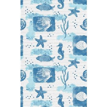 Vannitoavaip laius 65cm Merihobud sinise