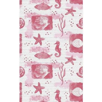 Vannitoavaip laius 65cm Merihobud roosa
