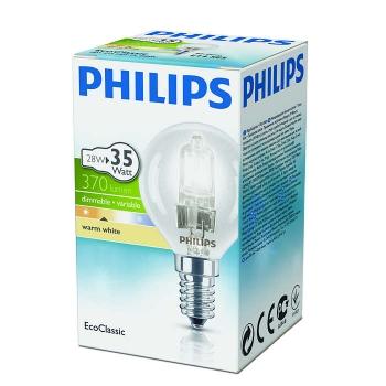 Halog.lamp EcoCl.Philips 28W E14 lühter